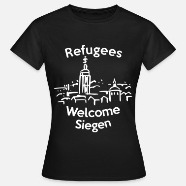 Proasyl Refugees Welcome Siegen - Frauen T-Shirt