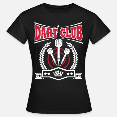 180 Darts Dart Club - Women's T-Shirt