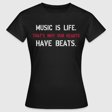 Music Is Life Sweaters - Vrouwen T-shirt