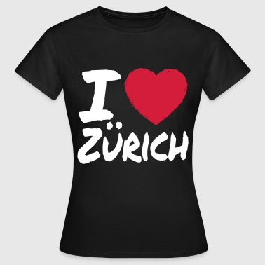 I Love Zürich - Frauen T-Shirt
