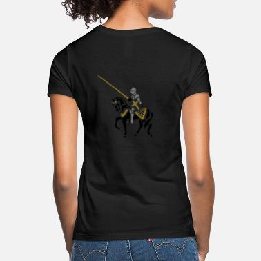 Medieval Times Jousting Knight medieval patjila - Women's T-Shirt