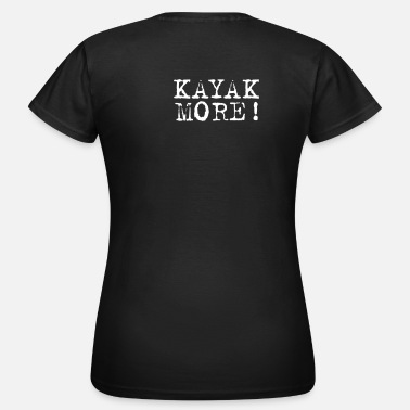 Chocolate kayak more Ladies' - Women's T-Shirt
