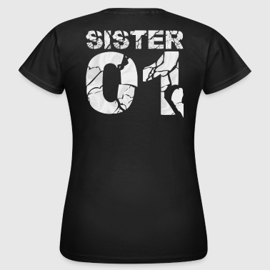 Sister 01 | Partnershirts - Frauen T-Shirt