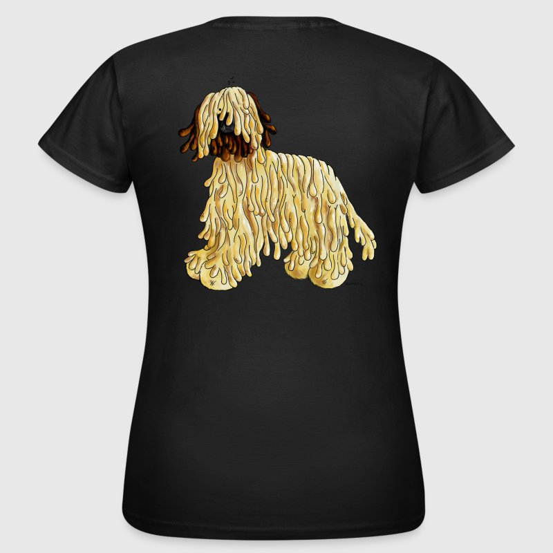 Briard - Dog - Cartoon- Breed - Women's T-Shirt