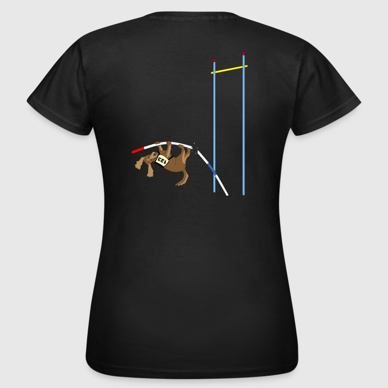 Pole vault  dog - Women's T-Shirt
