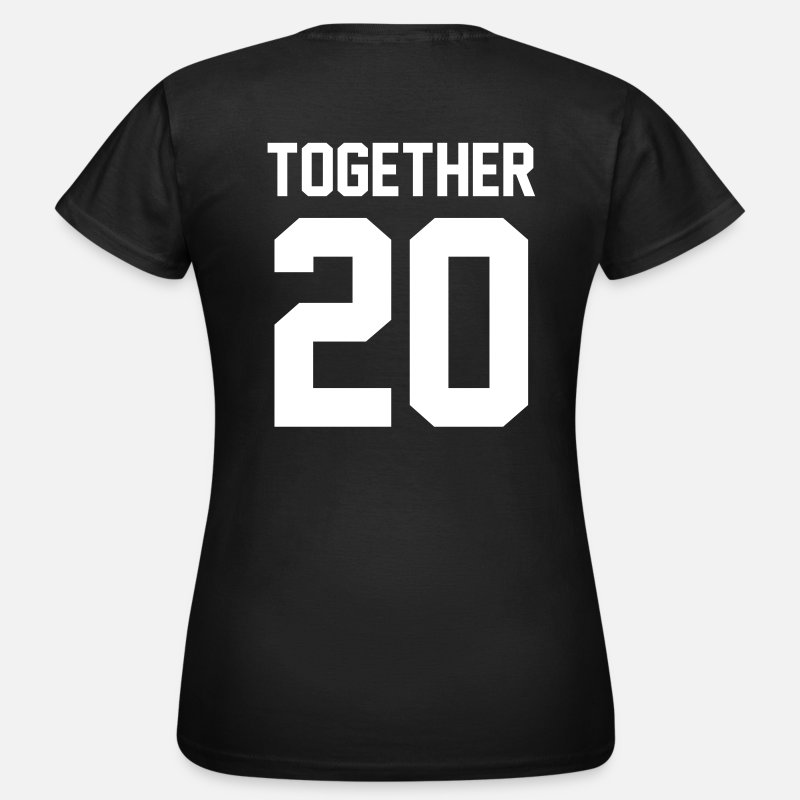 Camisetas - Together 20 - Camiseta mujer negro