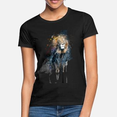 Animal Print Animal Lion (Tier Löwe) - Frauen T-Shirt
