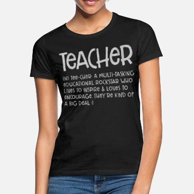 Teacher Teacher, Teacher, Teacher, Teacher Occupation, Sub - Women's T-Shirt