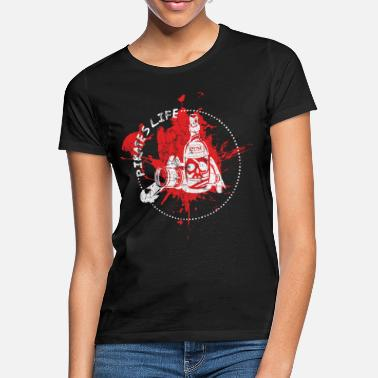 Thumper Alcohol pirate gift - Women's T-Shirt