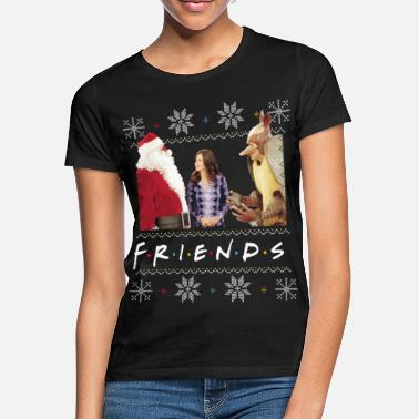 Friends X-Mas Santa Monica Gürteltier - Frauen T-Shirt