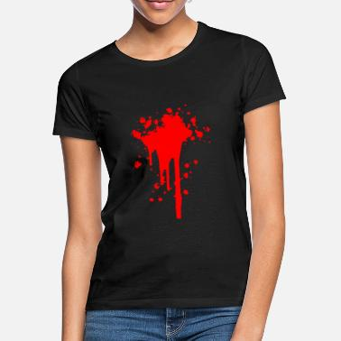 Wounded Blood stain blood wound wound - Women's T-Shirt