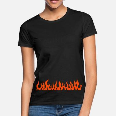 Lys flames - T-shirt dame