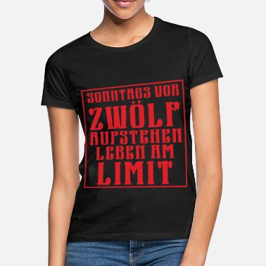 Zwölf Zwolf limit - Frauen T-Shirt