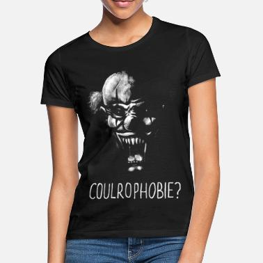 Gruselig Clown-Coulrophobie - Frauen T-Shirt