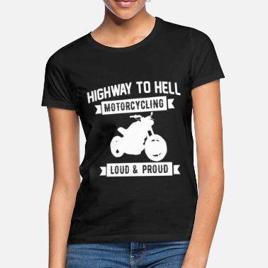 Highway To Hell Cool Highway To Hell motorcykel gave - T-shirt dame