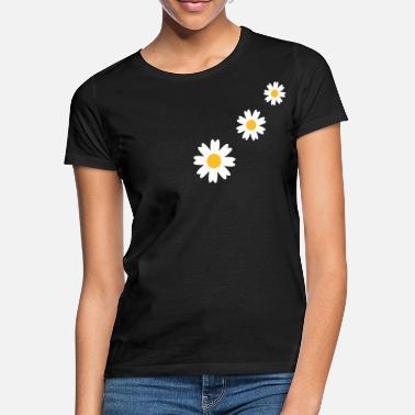 Marguerit 3_flowers - T-shirt dame
