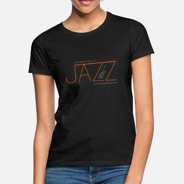 Jazz Jazz at La Montaña Rusa Radio Jazz - Women's T-Shirt