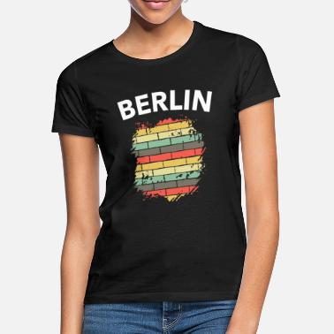 Walls Fell Berlin Wall Fall of the Wall GDR funny gift - Women's T-Shirt