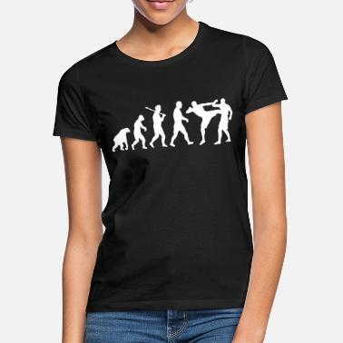 Thai Boxing Evolution: Muay Thai/Kick Boxing - Frauen T-Shirt