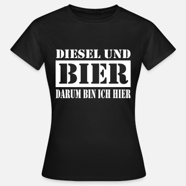 Diesel DIESEL POWER - T-shirt dam