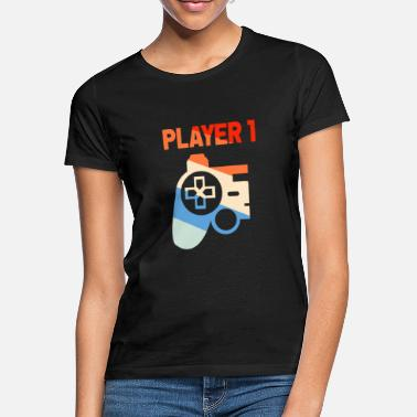 1 Player 1 - Frauen T-Shirt