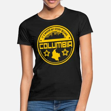 Colombia Colombia nationality holiday homeland origin - Women's T-Shirt