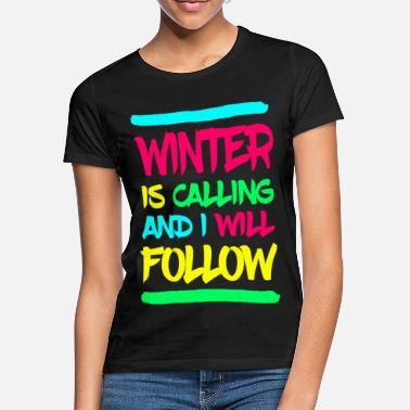 Winterurlaub WINTER - Frauen T-Shirt