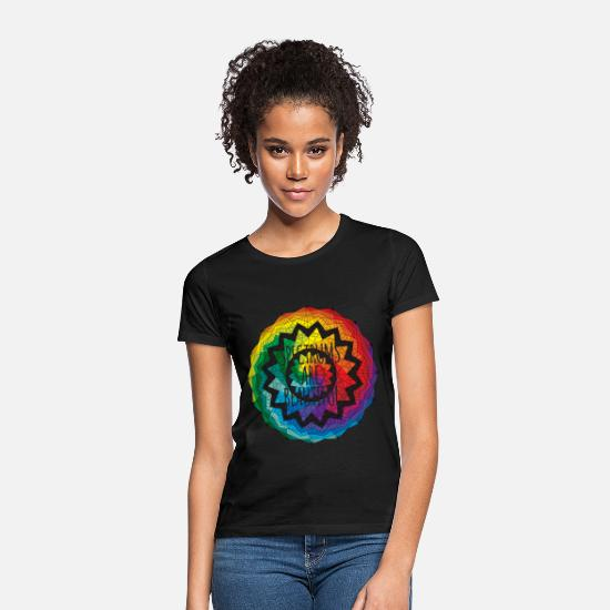Beautiful T-Shirts - Spectrums Are Beautiful Autism Awareness - Women's T-Shirt black