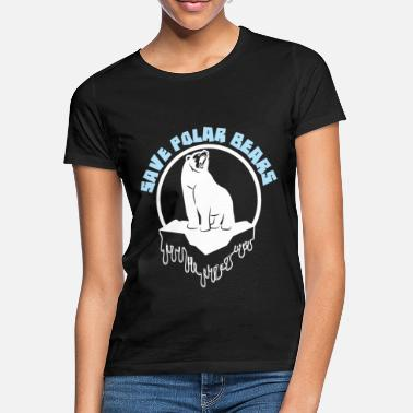 Ice Floe Bear ice climate save ice floe gift - Women's T-Shirt