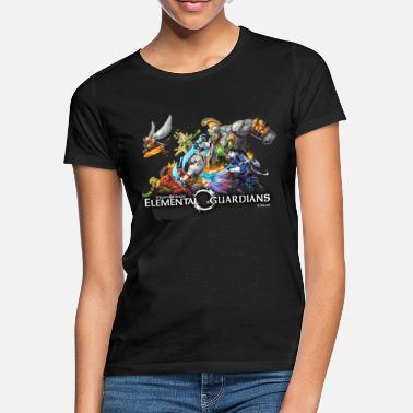 Officialbrands Might & Magic Elemental Guardians-logo - Vrouwen T-shirt