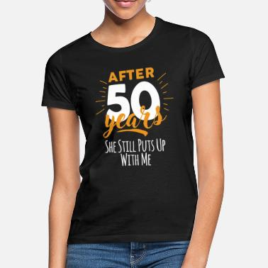 Over 50 years 50th - second - Women's T-Shirt