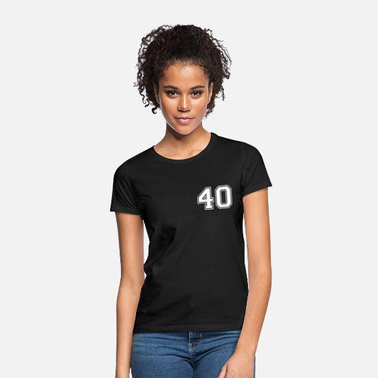 Sport T-Shirts - 40 - Women's T-Shirt black