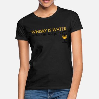 Ardbeg Whisky is water, bicolor - Frauen T-Shirt