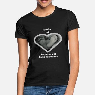 beautiful is what you know with love knows - Women's T-Shirt