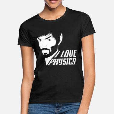 Geek Star Trek Discovery Spock Love Physiscs - T-shirt Femme