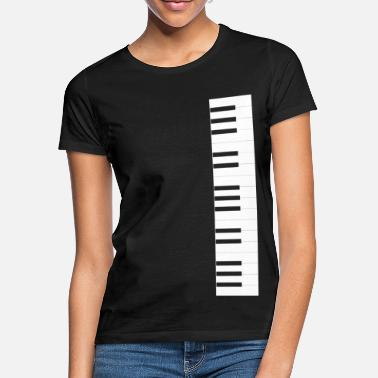 Keys Piano keyboard - Women's T-Shirt