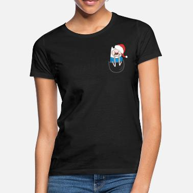 Adventure Time Finn Santa - Women's T-Shirt