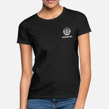 Afghanistan AFGHANISTAN. - WhitexBlack - T-shirt dame