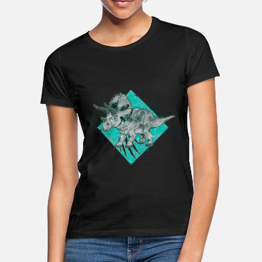 Triceratops Triceratops - T-shirt dame