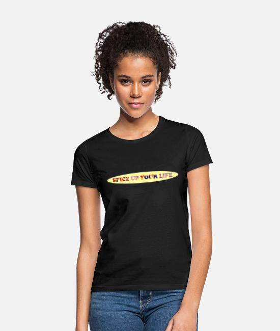 Spice Girls T-Shirts - spice up your life - Women's T-Shirt black