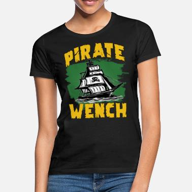 Pirate Ship Pirate flag pirate ship - Women's T-Shirt