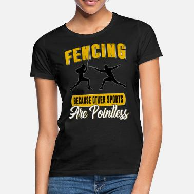 Sword Fight Fencing sword sword fighting - Women's T-Shirt