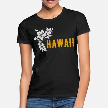 edb44e9f Hawaiian Hawaii Surfing Surfing Tropical Island Vacation - Women's  T-Shirt