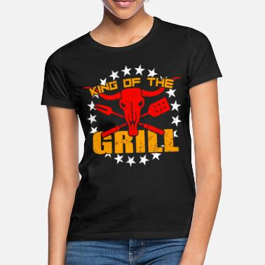 Pince Du Barbecue Barbecue King Grillmeister Barbecue Couverts Pinces À Barbecue - T-shirt Femme