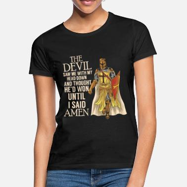 Crusader Crusader Knight Christianity Christian Quote quote - Women's T-Shirt