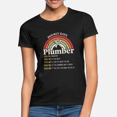 Labour Day Hourly Rate Plumber Labour Day Handyman - Women's T-Shirt