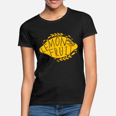 Fruits Lemon Fruit - Frauen T-Shirt