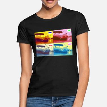 Pop Art Low Tuning Car TT - Frauen T-Shirt