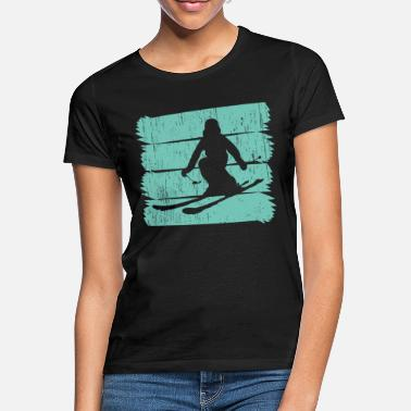 Top-seller Skifahren Top Seller - Frauen T-Shirt