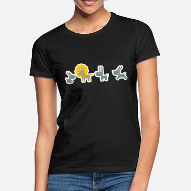Leon with rabbits - Women's T-Shirt